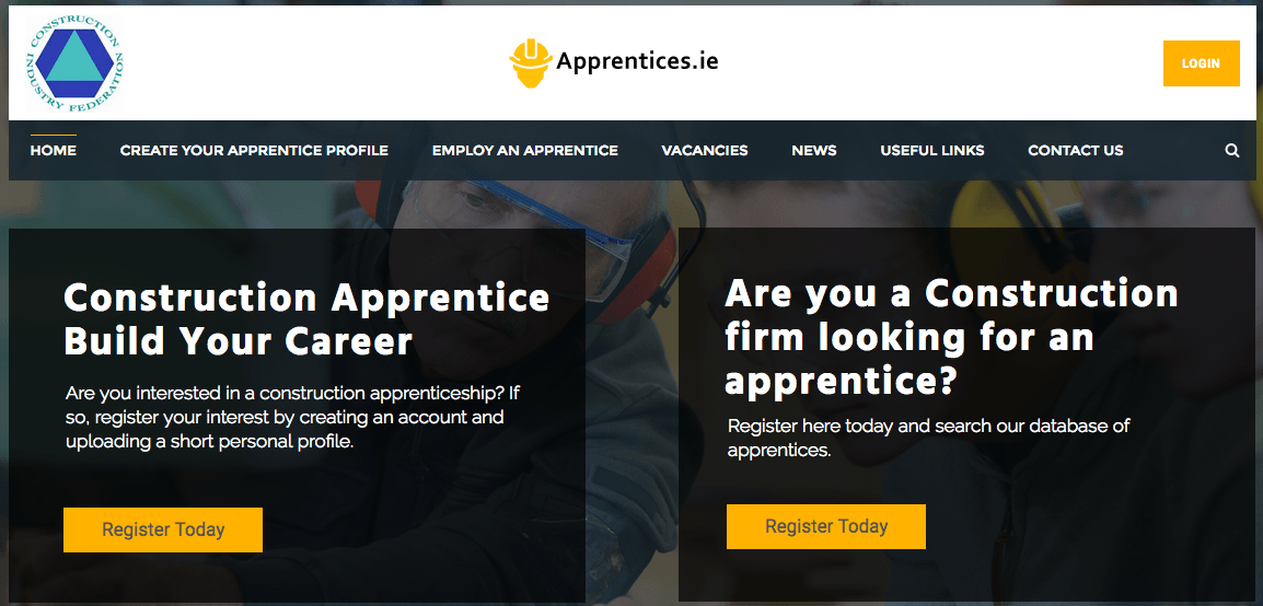 Irish construction apprenticeships