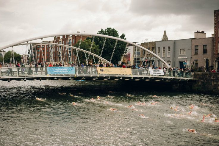 Jones Engineering Dublin Liffey Swim