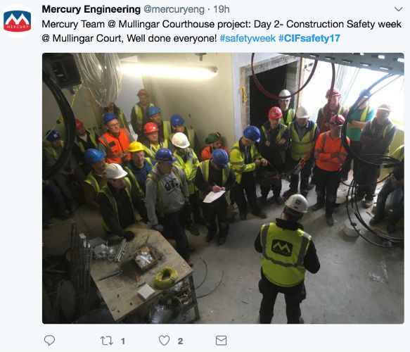Mercury 2 Construction Safety Week Day 2
