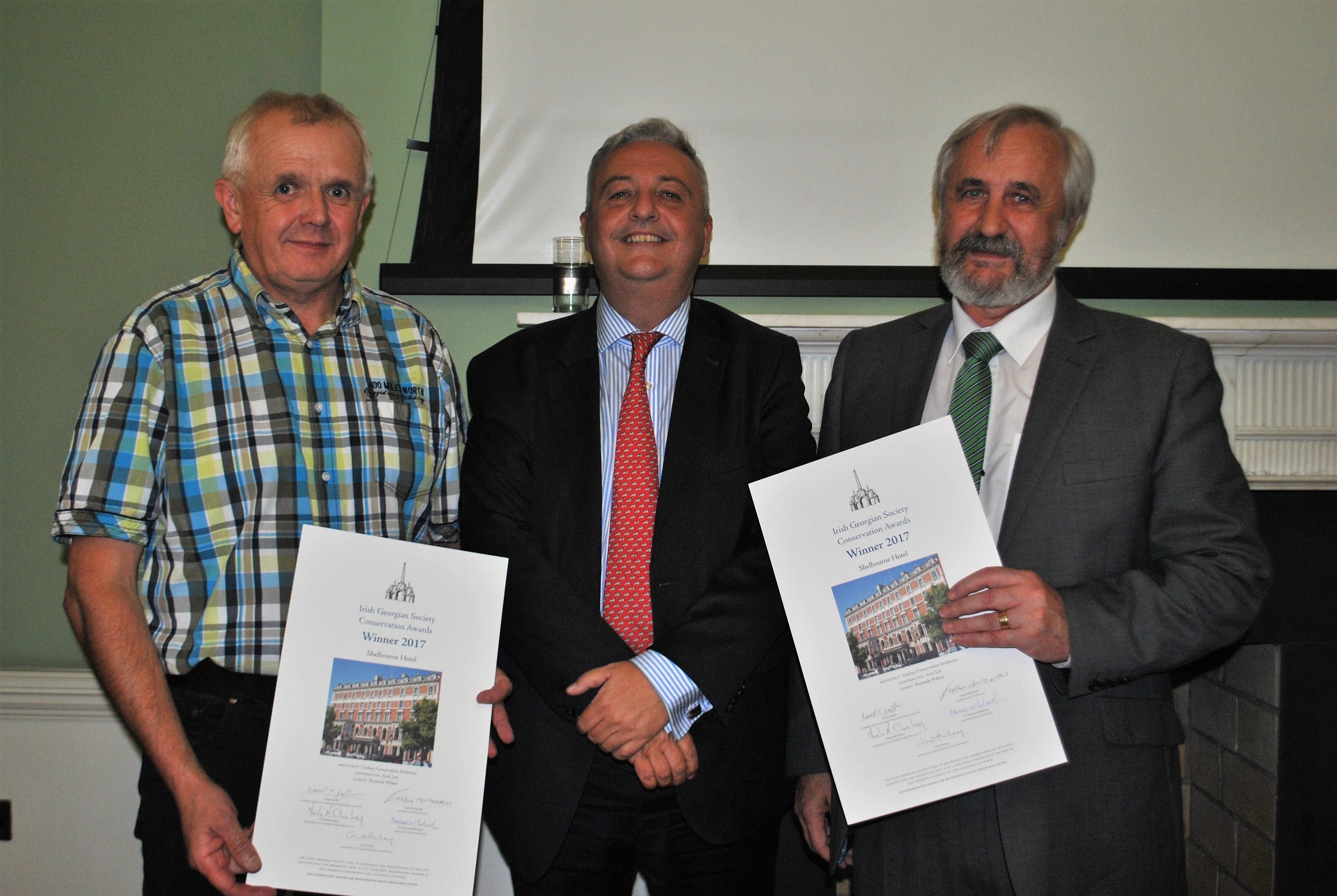 Irish Georgian Society Architectural Conservation Award 2017