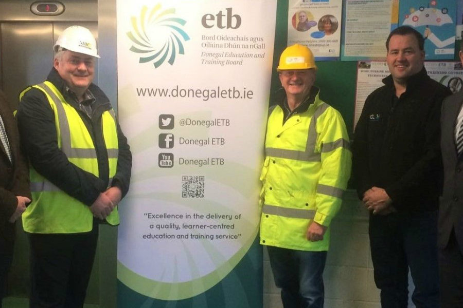 CIF DONEGAL BRANCH AND DONEGAL ETB JOIN FORCES WITH CONSTRUCTION GROUND WORK SKILLS PROGRAMME