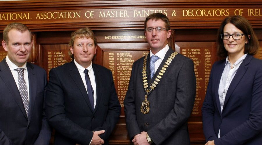 Dundalk man appointed President of the Master Painters and Decorators of Ireland (MPDI)