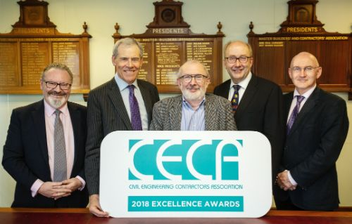 Civil Engineering Excellence Awards to be Presented at CECA Annual Dinner in September