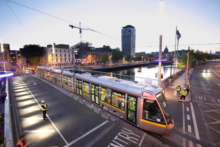 Luas City Centre Line Wins Overall CECA Excellence Award 2018