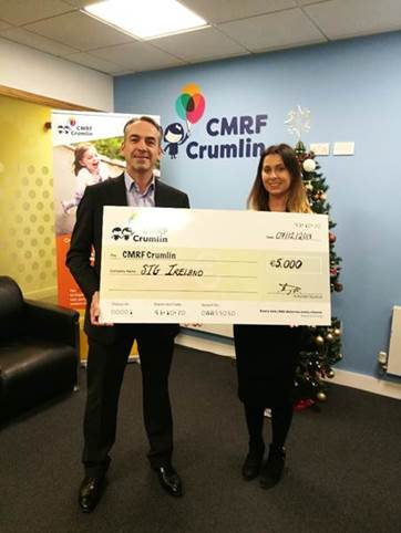 SIG Ireland Supporting Four Worthy Charities this Christmas
