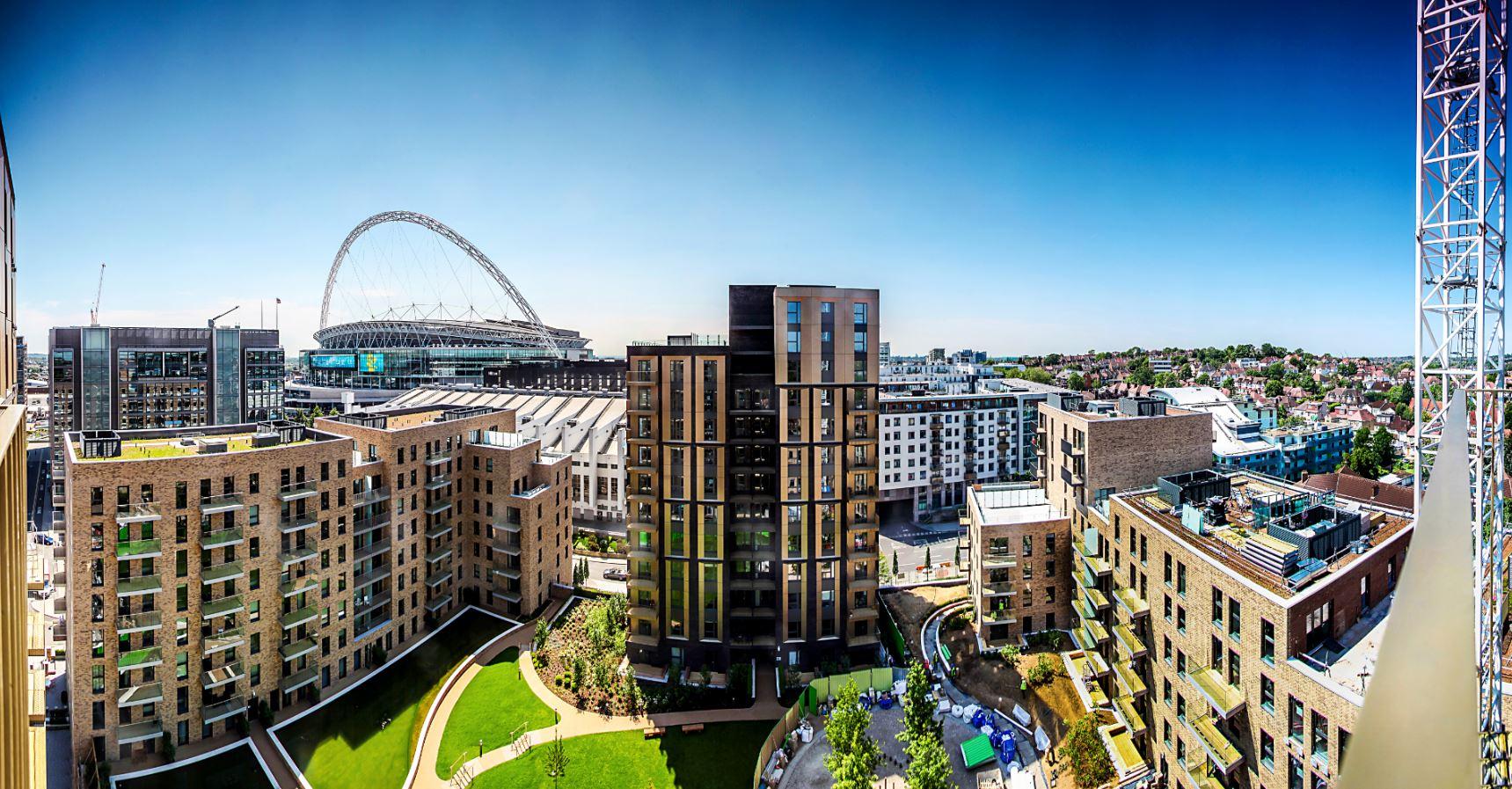 Sisk delivers over 1,200 homes at Wembley Park