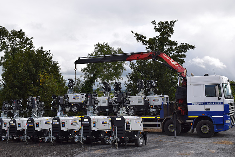 Laois Hire – Keep your sites bright and safe this winter