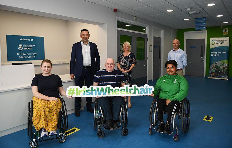 John Paul Construction gives Irish Wheelchair Association's Sports Centre a new look